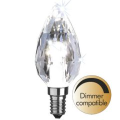 Led lamppu E14 C35 Diamond
