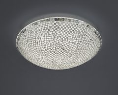 Trio Mosaique LED plafondi 50 cm hopea